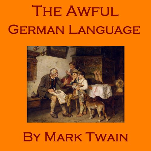 The Awful German Language cover art