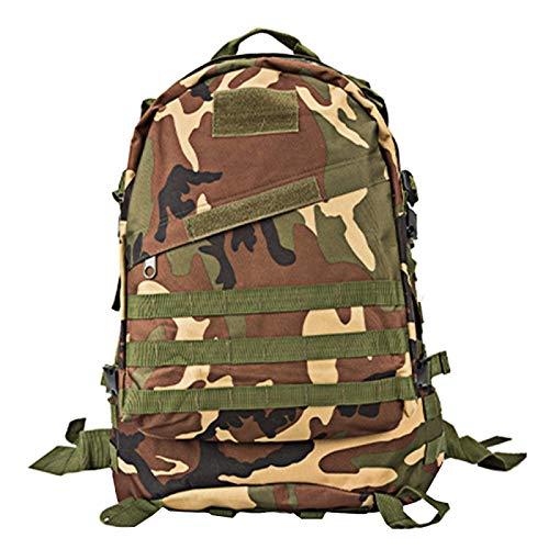 Bolsas al aire libre Lgmin dl-b001 moda estilo de camuflaje hombres oxford paño mochilero bolsa de hombros 40l al aire libre al aire libre caminata camping bolsa de viaje paquete 3d con molle expandid