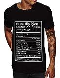 Swag Point Hip Hop T-Shirt -Biggie Graphic, Streetwear (L, Pure)