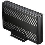 """タイムリー GROOVY 3.5""""HDD CASE SATA接続3.5""""HDD専用/ブラック SATA2-CASE3.5 BK"""