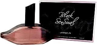 عطر الشفايف سنشوال الاسود 85 مل للنساء من جوهان.ب Black Sensual By Johan.B For Woman