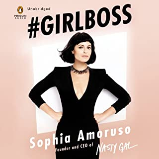 #GIRLBOSS audiobook cover art