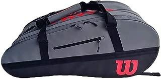 Wilson Super Tour 2 Comp L Clash Tennis Bag Black and Red ()