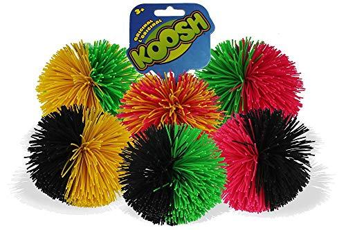 Koosh Ball Soft Active Fun Toy  1x Random Coloured Koosh Ball