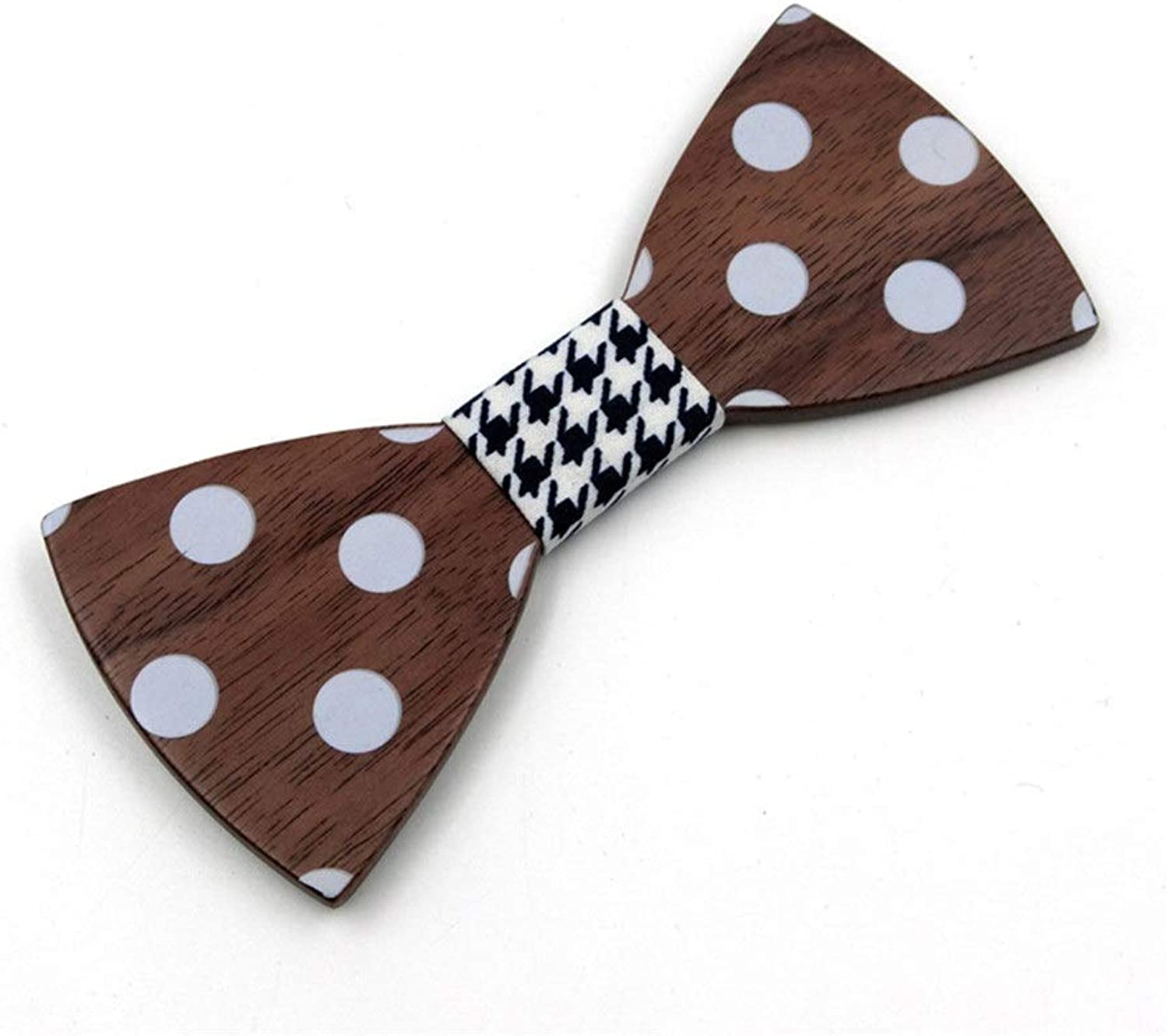 64db598d2f Necktie Contracted Wave Point Solid Wooden Bow Tie Log Log Log Wood Tie  Restoring Ancient Ways Pure Manual Leisure Neckties Bow Tie Men's and  Women's c3c9d9