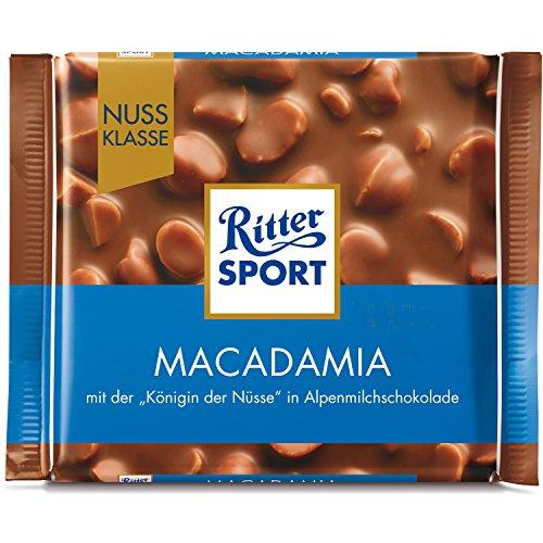 Ritter Sport Nuss-Klasse Macadamia 5 x 100g