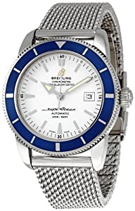 Breitling Men's A1732116/G717 SuperOcean Heritage Silver Dial Watch Review and Buy NOW!!! and review image