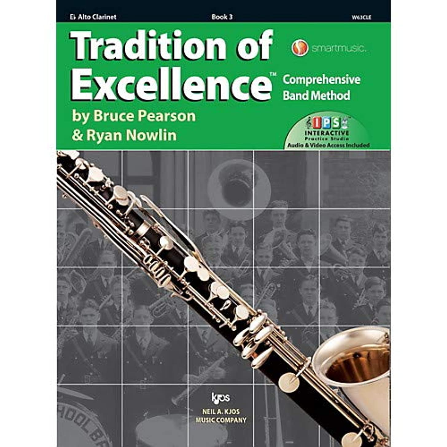 Tradition of Excellence Book 3 Alto clarinet Pack of 3