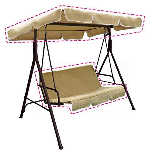 VERDELOOK Kit di Ricambio per Dondolo Sorrento (codice 780/40) Composto da tettuccio e Cuscino
