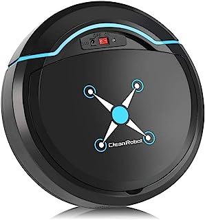 Robot Aspirador, Usb Recargable Automático Inteligente Robot Inteligente Aspirador De Piso Máquina De Barrido Para El Hoga...