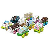 Thomas & Friends MINIS Toy Trains 10-Pack with springtime designs