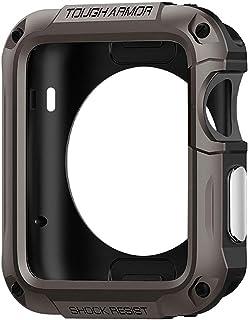 Spigen Apple Watch 42mm Series 3 / Series 2 Tough Armor Gun Metal Case/Cover with Screen Protector Gunmetal