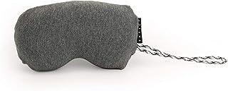 EASILY - Cojín de Viaje de Espuma viscoelástica - Compacto, ergonómico, desenfundable - 19 x 10 cm
