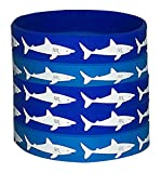48 PCS Shark Party Favors Rubber Bracelets - Under the Sea/Baby Shark Birthday Party Supplies Goodie Bag Stuffers Fillers Slicone Wristbands