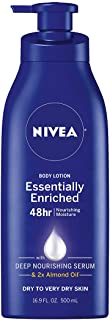 NIVEA Essentially Enriched Body Lotion – 48 Hour Moisture For Dry to Very Dry Skin..