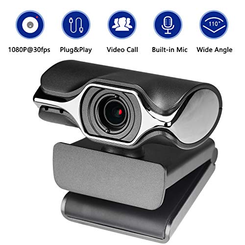 HD Pro Webcam - Full HD 1080p Video Calling and Recording, Dual Stereo Audio, Stream Gaming,...