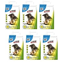 WITH NATURAL KERNEL CORN GRANULES with deodorizer cat litter to prevent unpleasant odours A LIGHTWEIGHT CLUMPING CORN cat litter with odours eliminator locker and disinfectant CLUMPS CAN BE EASILY AND SAFELY disposed of by flushing down the toilet fo...