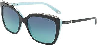 Tiffany & Co. Sunglasses, Blue, for Women, Cat Eye, 0TF4135B 80559S 56
