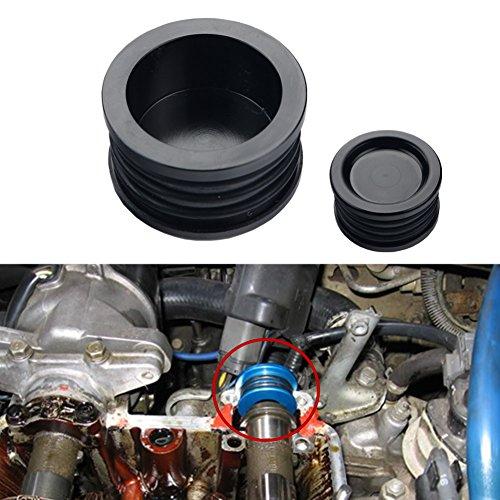 Dewhel B16 B18 B20 H22 H23 F20 Engine B-SERIES H-SERIES BILLET Triple O ring CAM CAMSHAFT SEAL PLUG Color Black For Honda Acura