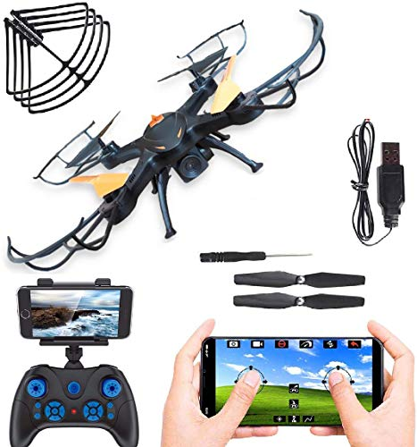 Super Toy Wi-Fi Professional 360P Camera Drone With Altitude Hold, One Key Return And Flip Stunts(Multicolour)