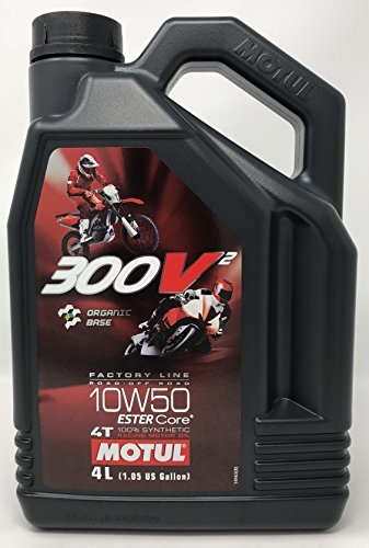 MOTUL 300V² 4T Factory Line Road Racing Off Road 10W50 Motorenöl 4 Liter