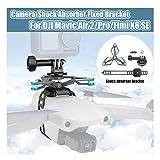 Momola Caméra d'action Support Fixe Support d'amortisseur pour DJI Mavic Air 2/Autel Evo 2/Mavic 2/Mavic Pro/Fimi X8 Se, Accessoires De Haute Qualité pour Drones