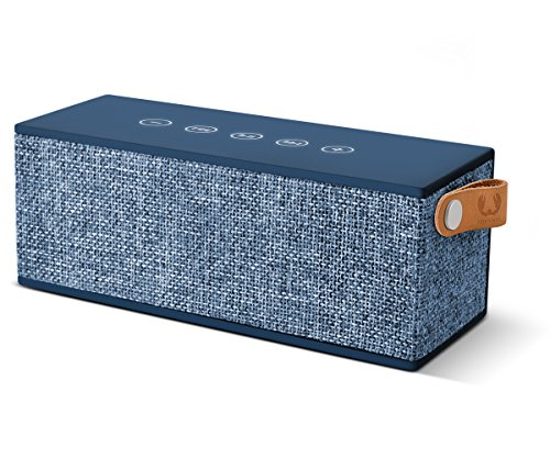 Fresh 'n Rebel Speaker Rockbox Brick Fabriq Edition,altoparlante Wireless portatile 12W, Extra Bass, Bluetooth, tasti touch, funzione powerbank + vivavoce. Compatibilità Smartphone/Tablet/laptop e MP3