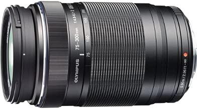 Olympus V315040BU000 M.Zuiko Digital - Telephoto zoom lens - 75 mm - 300 mm - f/4.8-6.7 ED II - Micro Four Thirds - for Olympus E-P3, E-P5, E-PL1s, E-PL2, E-PL3, E-PL5, E-PL6, E-PM1, E-PM2; OM-D E-M1, EM-5