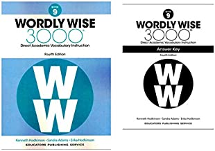 Wordly Wise 3000® 4th Edition Grade 9 SET -- Student Book and Answer Key (Direct Academic Vocabulary Instruction)