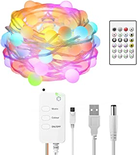 Seeyo Tuya Smart-Life Strips Lights Waterproof LED Timing Light with Remotes Control Voice Remotes Control Colorful Strips...