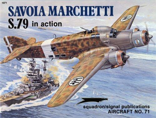Savoia Marchetti S.79 in Action
