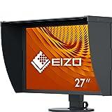 Eizo ColorEdge CG2730 - Monitor Profesional 27' (Panel IPS Resolución 2560 x 1440, DVI-D x 1, HDMI x 1, DisplayPort x 1, calibrador Integrado, Visera incluida), Negro