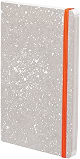 nuuna Inspiration Book – Bloom – Jeans Label Material Notebook – Soft Cover, Elastic Strap Closure, 176 Pages Colours Premium Paper, DIN A5