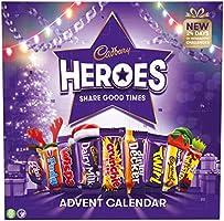 Cadbury Heroes Kerstmis Chocolade Adventskalender 230g
