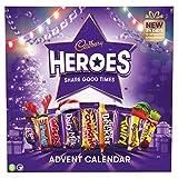 Cadbury Heroes - Calendario de Adviento de Navidad con chocolate (230 g)