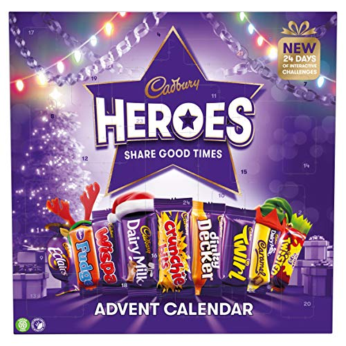 Cadbury Heroes Christmas Chocolate Advent Calendar 230g