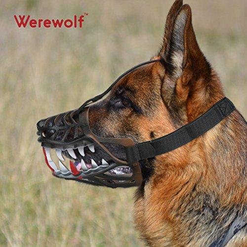 Museruola di sicurezza per cani, regolabile e...