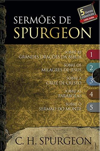 Box - Sermões de Spurgeon - 5 livros