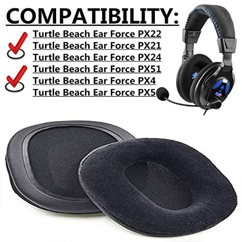 1 Paar austauschbare Ohrpolster für Turtle Beach Ear Force PX21 Ear Force PX22 Headset Ohrenschützer
