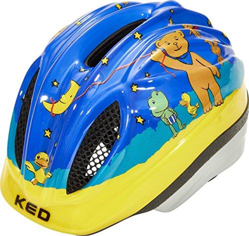 KED Meggy II Originals - Casco de Bicicleta Niños - Amarillo Contorno...