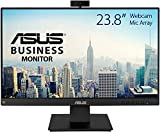 ASUS BE24EQK Business Monitor 23.8', Full HD, IPS, Frameless, Full HD Webcam, Mic Array, Flicker free, Low Blue Light, HDMI