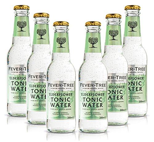 Fever-Tree Elderflower Tonic Water Set - 6x 200ml inkl. Pfand MEHRWEG