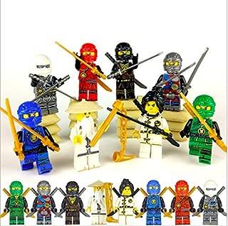 PlayGoTop Ninjago Building Blocks Action Figures Sets (8pcs)