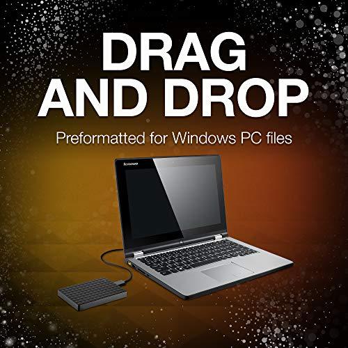 Seagate Expansion 4TB Portable External Hard Drive USB 3.0 (STEA4000400)