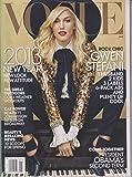 Vogue Magazine (January, 2013) Gwen Stefani Cover