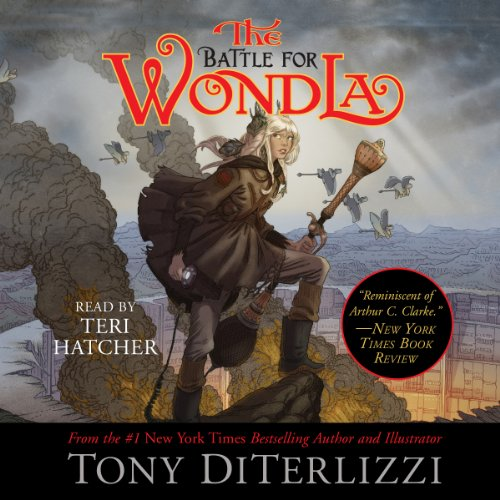 The Battle for WondLa audiobook cover art