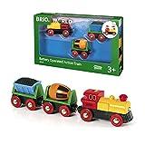 BRIO- Trains Treno con Locomotiva a Batterie, 33319