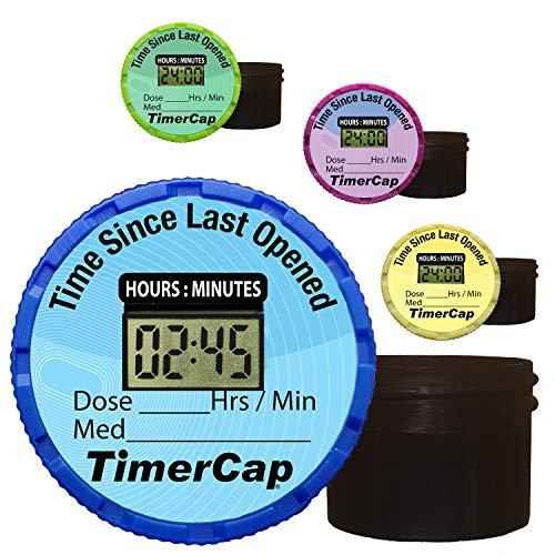 TimerCap Smart Pill Bottle Cap & Medication...