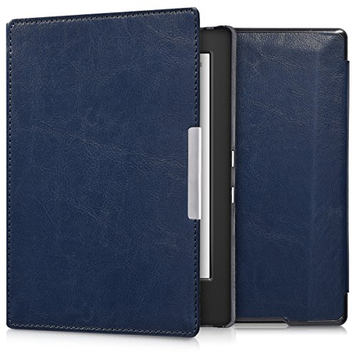 kwmobile Cover Compatibile con Kobo Aura H2O Edition 1 - Custodia a Libro per eReader - Copertina Protettiva Flip Case - Protezione per e-Book Reader