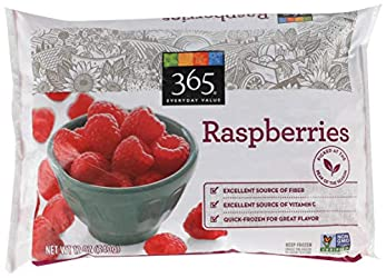 365 Everyday Value, Raspberries, 12 oz, (Frozen)